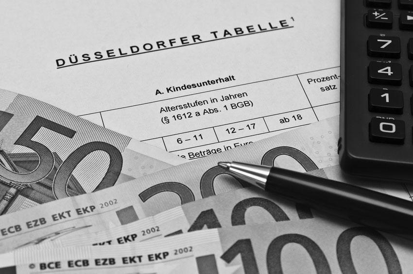 Düsseldorfer Tabelle – Kindesunterhalt – was ändert sich 2017
